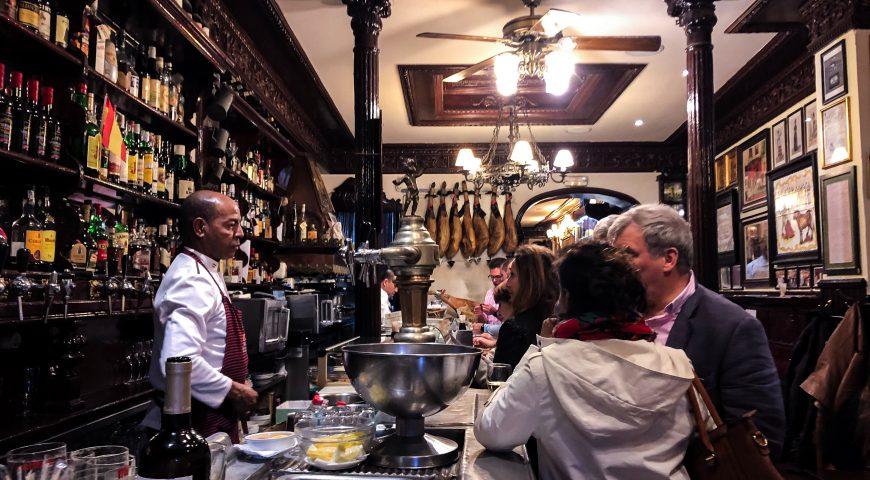 Où manger à Madrid en groupe?