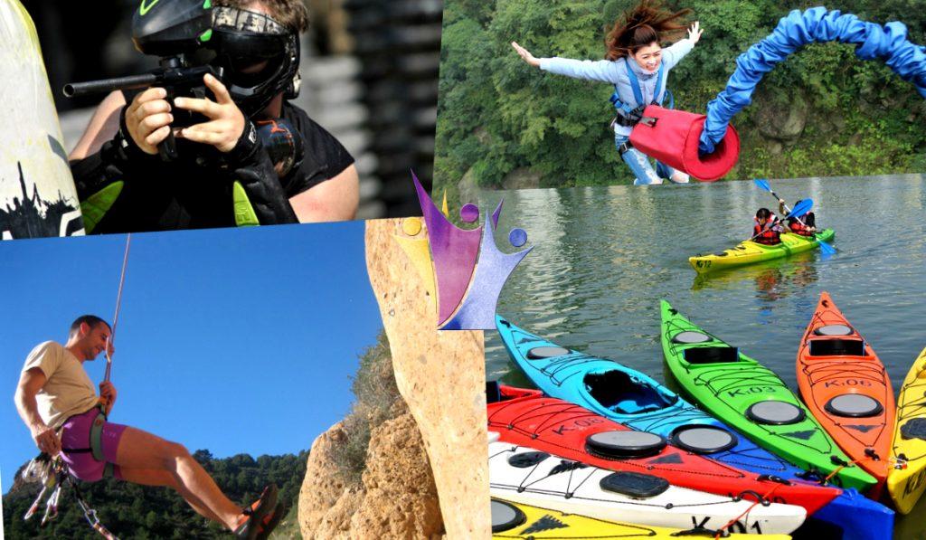 actividades multiaventura para un viaje escolar en Granada