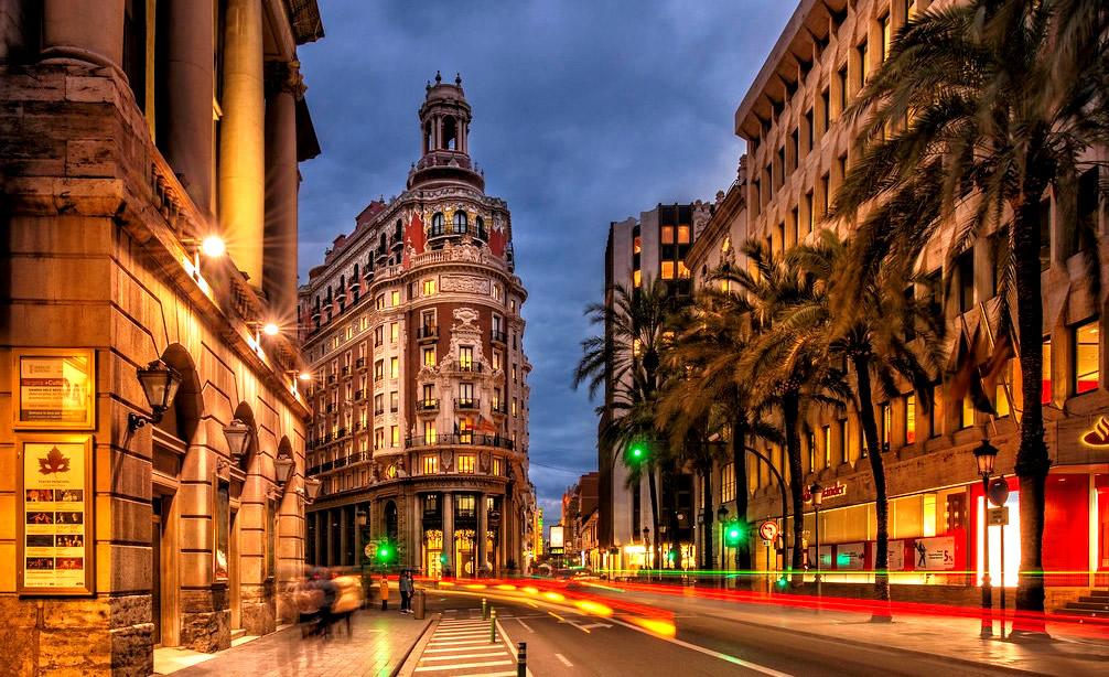 alojamiento para un viaje de fin de curso a Valencia