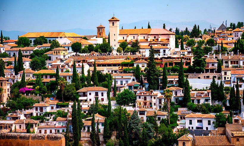 barrios para visitar en un viaje escolar a Granada
