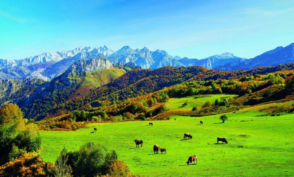 parajes naturales en Asturias