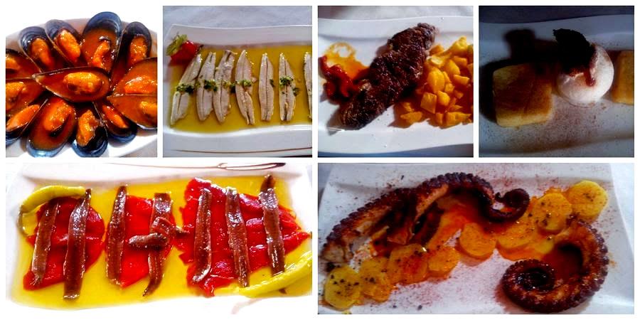 platos típicos en un viaje escolar a Cantabria